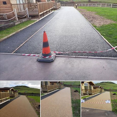 resin stone driveways