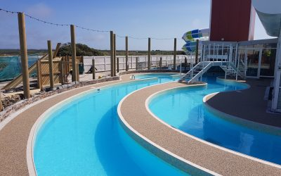 Haven Holiday Park Pool surrounds