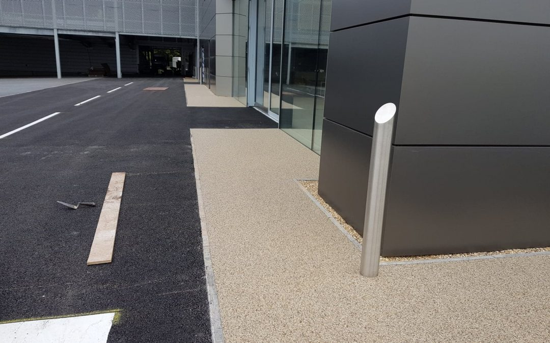 Taunton resin bound footpaths